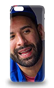 Cute Appearance Cover Tpu MLB Toronto Blue Jays Jose Bautista #19 3D PC Case For Iphone 6 Plus ( Custom Picture iPhone 6, iPhone 6 PLUS, iPhone 5, iPhone 5S, iPhone 5C, iPhone 4, iPhone 4S,Galaxy S6,Galaxy S5,Galaxy S4,Galaxy S3,Note 3,iPad Mini-Mini 2,iPad Air )