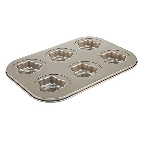 QHYT Baking Tools Cat Claw Cake Bakeware Mackinon Cake Cake Bakeware 6 Nonstick Bakeware Baking Mould by QHYT