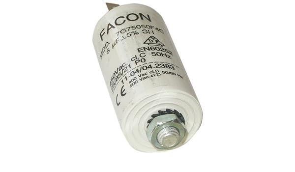 Fagor – Condensador 5 MF para campana Fagor: Amazon.es: Hogar