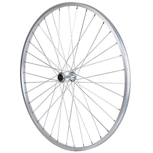 (Sta Tru Silver Alloy Hub Front Wheel (27X1 ¼-Inch))
