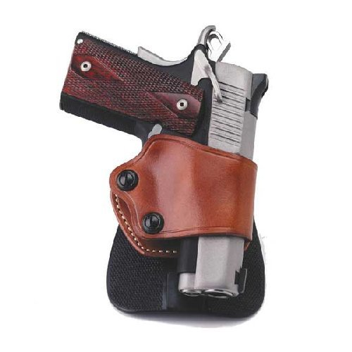 Galco Yaqui Paddle Holster for 1911 3-Inch-5-Inch Colt, Kimber, Para, Springfield, Kahr, Walther P22 (Black, (Galco Paddle Holsters)