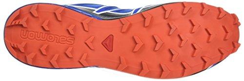 Salomon Herren Speedcross 4 Trailrunning-Schuhe Blue Yonder/Black/Lava Orange