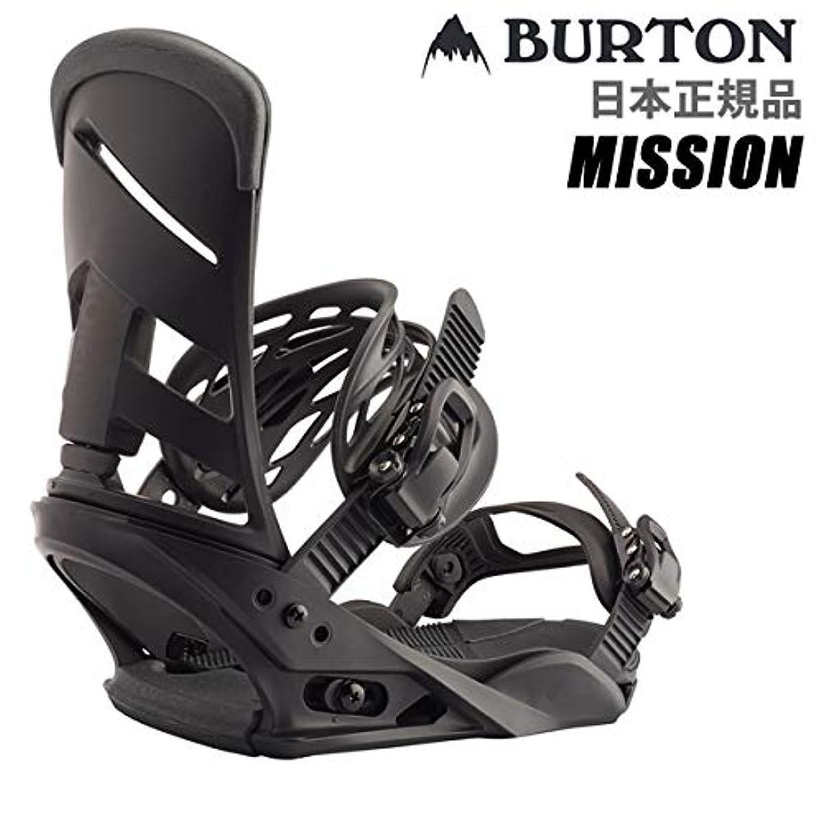 [해외] 버튼 버튼 바인딩 미션 MISSION RE:FLEX 리플렉스 BLACK 일본 정규품 BURTON 19-20 2020스노보드 빈딩【C1】
