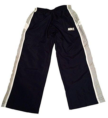 Nike Boys Core Track Pants (Size 4) Obsidian/Grey/White 860891-695