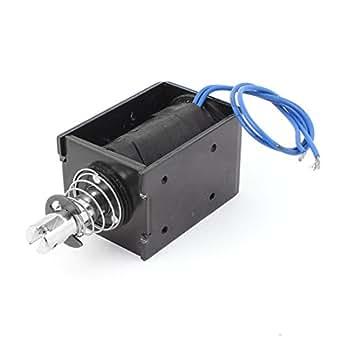 HEAVY DUTY 24VDC SOLENOID TUBULAR PUSH PULL PLUNGER  9080022 OR BDC.5//03