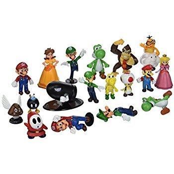 super mario action figures - 1