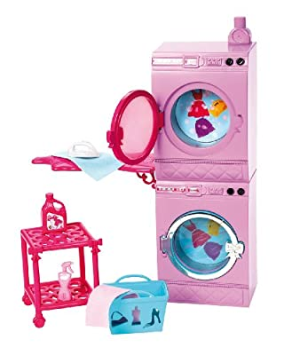Barbie Glam Laundry Furniture Set by Mattel