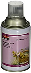 Rubbermaid Commercial FG4012481 Refill for Microburst 9000 Automatic Odor Control System, Country Delight