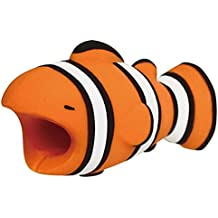GFsnow Cable bite Mobile Phone Cable Cord Animal Protects Phone Cable Accessory (Clownfish)