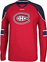 NHL Montreal Canadians Men's Edge Long Sleeve Jersey Tee