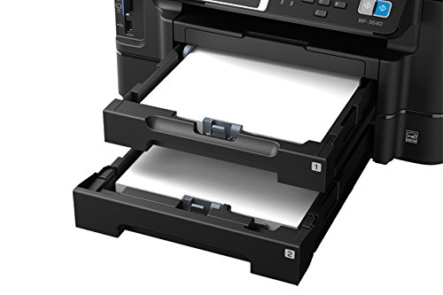 Paper Cassette Tray (Paper Cassette Tray Set Both Upper Tray (1) & Lower Tray (2) For Epson: WorkForce WF-3640, WF-3530, WF-3540, WF-3540 DTWF, WF-3640)