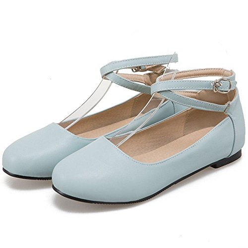 Plano Dulce blue 1 Zanpa Mujer Zapatos YEfZZq
