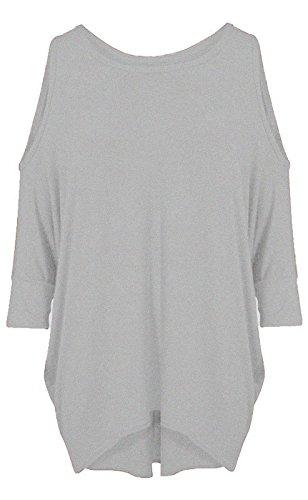 Re Tech UK - Vestido - para mujer gris claro