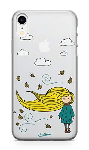 Capa Poliuretano, Elfo, Iphone X/XS, Capa Protetora para Celular, Transparente