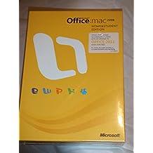 Office Mac Home Student 2008    DVD Retail Tech Sku