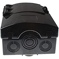 Friday Part FPCDS-60A Non-Metallic/Polycarbonate Enclosure Fused 60 AMP Disconnect Box 240V 1 Phase
