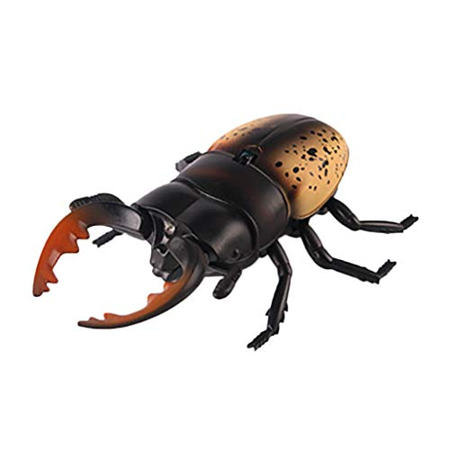 (Redvive Top Children Tricky Toys Infrared Induction Electric Remote Control Beetle Toy Gift)