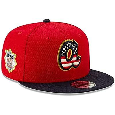 New Era Atlanta Braves 2019 Stars & Stripes 4th of July 950 9FIFTY Snapback Adjustable Cap Hat