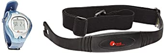 Sportime Pulsetracker Plus Heart Rate Monitor with Watchband and Transmitter - Red