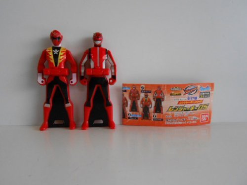 Legend Sentai Ranger key 05 two Red Buster all two 1 Red Buster 2 Gokai Red (Red Gokai)