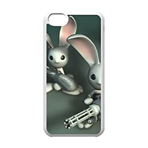 Free Soldiers iPhone 5C Case White