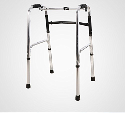 Walker Aluminum Alloy Folding Adjustable Walker for the Elderly Walking Auxiliary Drive Medical Crutches Drive Medical Walkers by jiaminmin