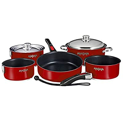 Magma Nesting 10-Piece Induction Compatible Cookware