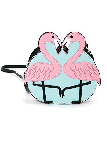 Flamingo Purse (Pink Flamingo Love Shoulder Crossbody Bag)
