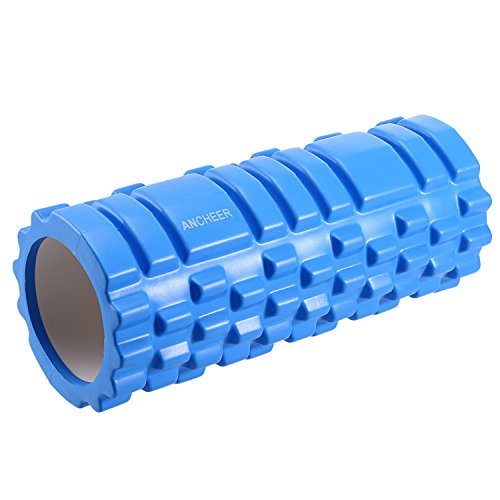 Yoga Roller, High-Density Round Stretch...