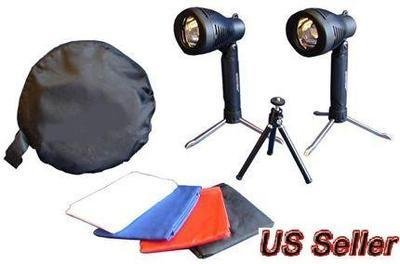 "UbiGear 16"" Photo Photography Tent Shooting Box Softbox Studio Kit Set with Light/tripod"