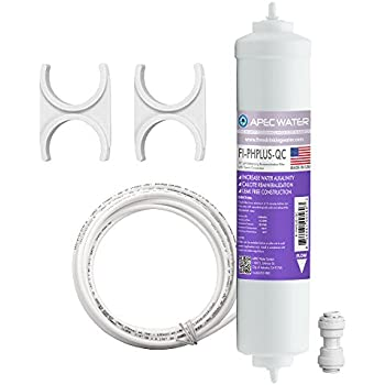 APEC Water Systems UV Ultra Violet Sterilizer Water Filter Kit with 1//4 Quick Connect UG-UVSET-1-4