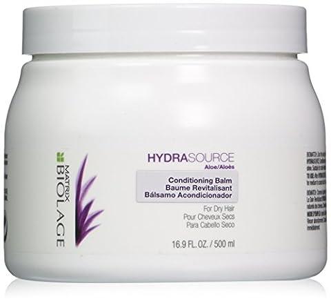 Matrix Biolage Hydrasource Conditioning Balm for Dry Hair, 16.9 Ounce (Matrix Biolage Conditioning)