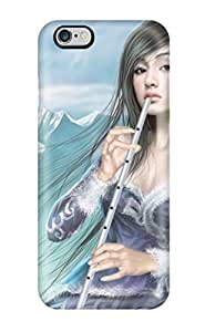 Perfect Fit AzvEThi6876hmwyf Flute Fantasy Women Abstract Fantasy Case For Iphone - 6 Plus by lolosakes