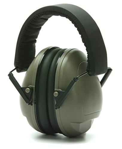 Pyramex PM9011 NRR 19dB Youth Ear Muff Hearing Protection, (Pyramex Hearing Protection)