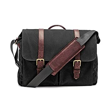 Amazon.com: ONA ECP DESIGN Brixton Messenger Bag ...