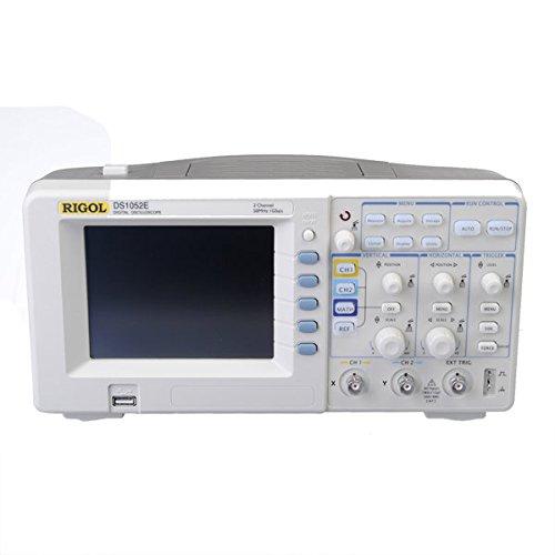 Doradus RIGOL DS1052E 5.6 Inch TFT LCD 50MHz 2-Channel 1GSa/s Digital Color Storage Oscilloscope Scopemeter + High Voltage Probe
