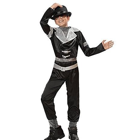 109576ab401f Pegasus VESTITO COSTUME Maschera di CARNEVALE bambino - MICHAEL Jackson  SUPER STAR - Taglia 6