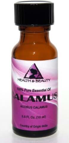 Calamus Essential Oil Organic Aromatherapy Therapeutic Grade 100% Pure Natural 0.5 oz, 15 ml