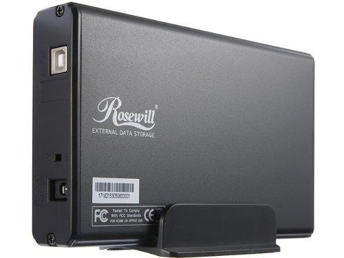 Rosewill RX35 AT IU BLK Aluminum Enclosure