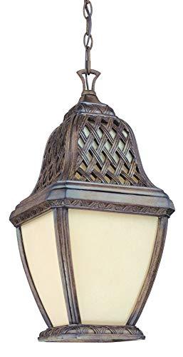 - Biscayne Hanging Lantern in Biscayne Size: 21.5