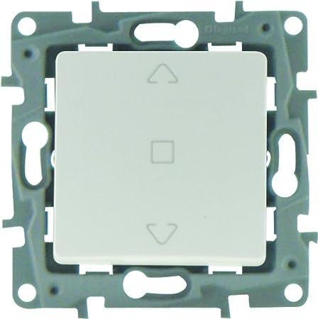 Legrand LEG96671 Nilo/é Interrupteur volet roulant Argent