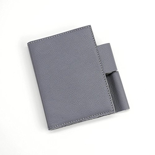 FLOOR | 9 Grey Leather Notebook, Small