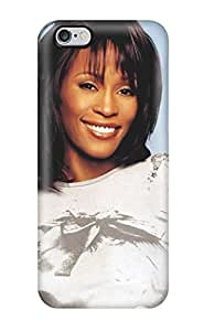 Flexible Tpu Back Case Cover For Iphone 6 Plus - Whitney Houston Homages People Women