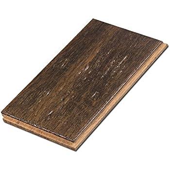 Cali Bamboo - Solid Click Bamboo Flooring, Medium Java Brown ...