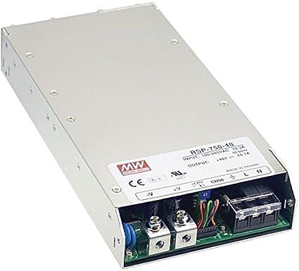 Schaltnetzteil//Netzteil 500W 5V 100A ; MeanWell RSP-750-5
