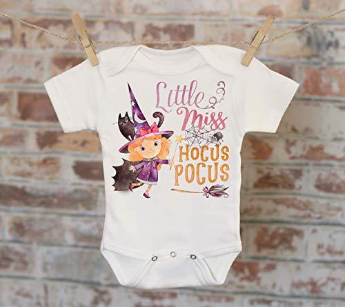 Little Miss Hocus Pocus Onesie®, Halloween Onesie, Fall Onesie, Cute Baby Bodysuit, Cute Onesie, Boho Baby Onesie, Funny Onesie]()