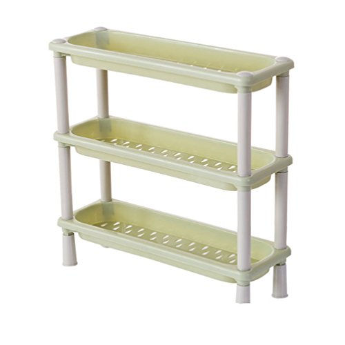 Cheap  Haotfire Plastic Shelf Bathroom Storage Shelves 3 Tier Shelves Corner Organizer For..