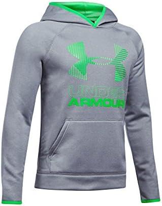NEW Under Armour Men/'s Armour Fleece Big Logo Long Sleeve Hoodie