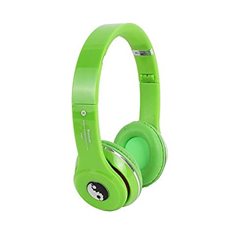 S460 Wireless Bluetooth Headphone Over The Head 2.1 Stereo Foldable Headphones Headset With Mic, Inbuilt SD Card and FM Radio For IOS, Windows and Android By Acid (Bluetooth Headphone Dac)