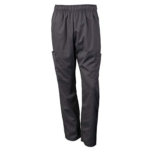 Chef Code Chef Pants, Charcoal/Black, 2X-Large